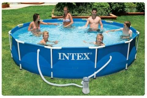 Pileta armable mor 1500 litros fiorella - Cubre piscinas intex ...